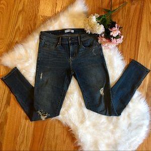 🌹 Banana Republic Skinny Ankle Zipper Jeans 26 🌹